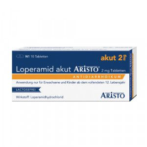 LOPERAMID akut Aristo 2 mg Tabletten