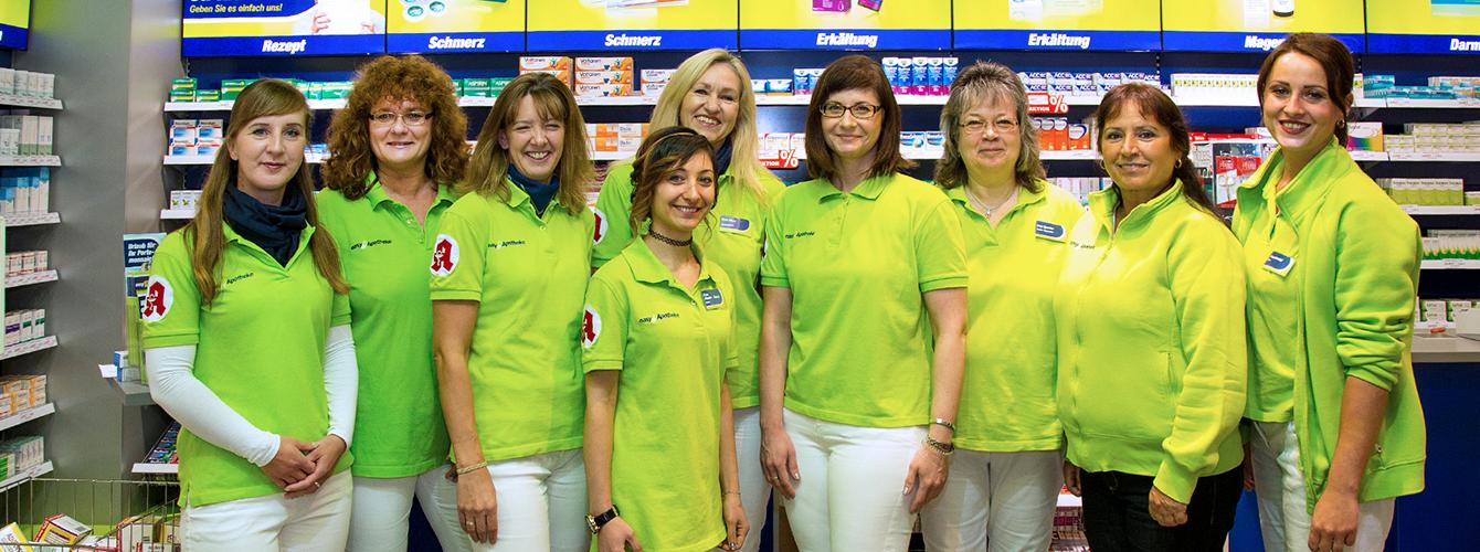Team der easyApotheke Mariendorf